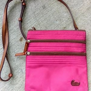 Dooney and Bourke Pink Crossbody Purse!